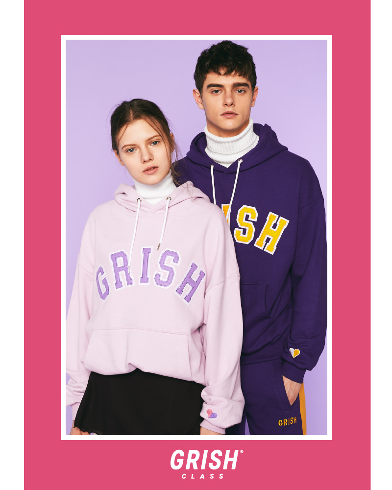 GRISH COUPLE Signature Hoodie-(ALL)